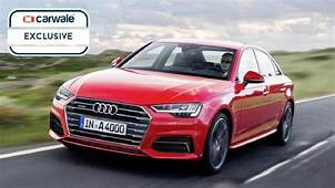 Audi A4 Facelift Rendered  CarWale