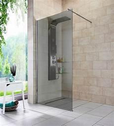 Begehbare Dusche Breite - walk in dusche 187 duschabtrennung 171 breite 100 cm grauglas