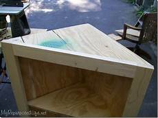 plans build corner tv stand pdf woodworking