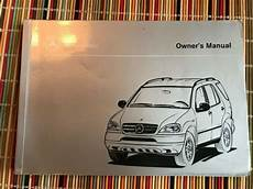 car owners manuals for sale 1998 mercedes benz cl class on board diagnostic system 1998 mercedes benz owners manual light truck ml 320 ebay