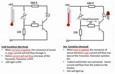 thermistor wiring diagram how thermistor works in a circuit electronics