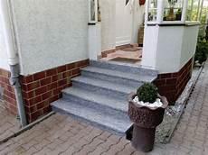 podest hauseingang granit details about treppe aussen haus eingang podest naturstein