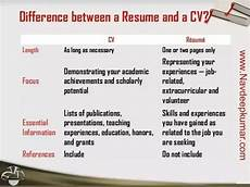 would sending out a cv be better than a resume quora