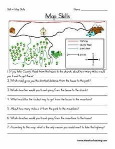 mapping skills worksheets for grade 3 11591 map skills worksheet for 2nd 3rd grade lesson planet