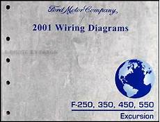 2001 ford f250 duty wiring diagram 2001 ford f 250 350 450 550 excursion wiring diagram manual original