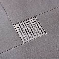Bathroom Drain Floor by Kes Square Shower Floor Drain With Removable Grate
