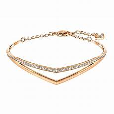 swarovski armband gold swarovski alpha gold clear medium bracelet