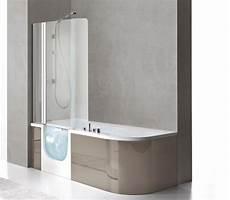 vasche da bagno apribili vasca con sportello e doccia for all box 180x78 cm