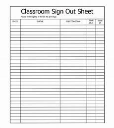 sle sign out sheet template 8 free documents download in pdf excel word