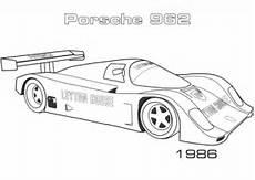Porsche Zum Ausmalen - ausmalbild 1986 porsche 962 ausmalbilder kostenlos zum