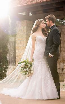 mermaid wedding dresses sparkling mermaid wedding gown essense of australia
