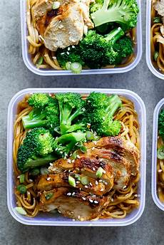 soy honey noodle salad meal prep simply delicious