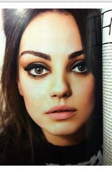Mila Kunis Augen Mila Kunis Inspired Make Up Tutorial