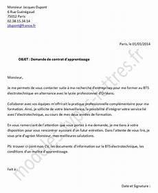 lettre de motivation apprentissage employment application
