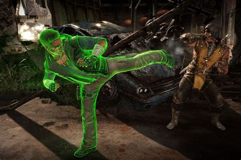 Johnny Cage Nut Punch