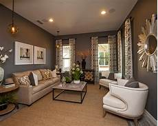 Home Decor Ideas For Grey Walls by Grey Brown Living Room Home Design Ideas Pictures