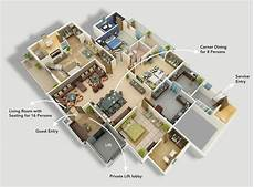 4 bedroom apartment house floor 50 four 4 bedroom apartment house plans house map