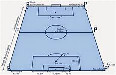 Gambar Lapangan Sepak Bola Beserta Ukurannya Dan