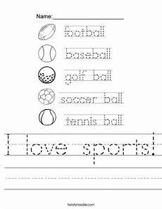 sports tracing worksheets 15881 i sports worksheet twisty noodle