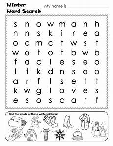 winter words worksheets 20121 word search words and winter on