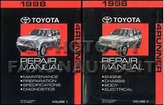 best auto repair manual 1998 toyota 4runner interior lighting 1998 toyota 4runner repair shop manual original 2 volume set