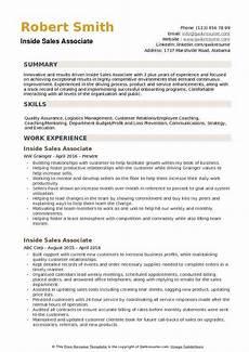 inside sales associate resume sles qwikresume