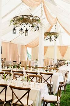 15 gorgeous ways to decorate your wedding tent woodland wedding and tents