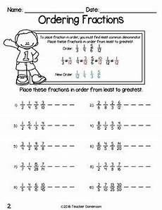 ordering decimals worksheet low ability 7199 fraction unit ordering fractions by gameroom tpt