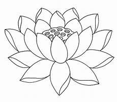 disegni fiore di loto lotus line drawing at getdrawings free for personal
