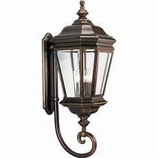 progress lighting 4 light rubbed bronze outdoor wall lantern p5673 108 the home depot