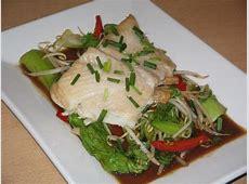 Grilled Halibut With Tamarind Stir Fried Vegetables image