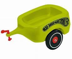 bobby car anhänger big bobby car trailer gr 252 n big bobby car zubeh 246 r