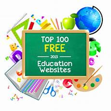 top 100 free education sites
