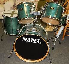 Vintage Mapex Mars Pro Series Drum Kit Curiosity Consignment