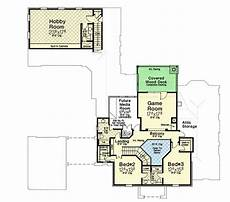 breezeway house plans plan 48561fm stately traditional house plan with