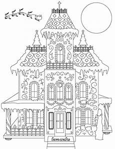 Malvorlagen House Breathtaking Gingerbread House Coloring Page Pdf House