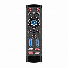 Wireless Backlit Gyroscope Voice Remote by T1 Pro 2 2 4g Wireless Backlit Gyroscope Voice Remote