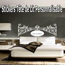 Stickers T 234 Te De Lit Baroque Personnalis 233 183 184 184