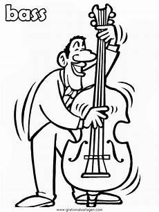 malvorlagen instrumente quest kontrabass gratis malvorlage in diverse malvorlagen musik