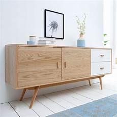 Kommode Skandinavisches Design - stylisches echt eiche sideboard hyke 150cm skandinavisches