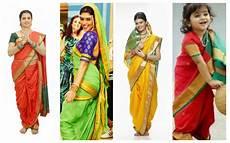 5 marathi saree drape styles fashions clicks
