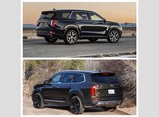 Kia Telluride vs Hyundai Palisade side by side photos