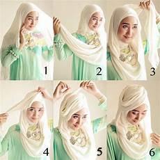 Busana Muslim Trendy Koleksi Tutorial Segi Empat