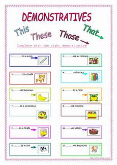 worksheets a1 18776 demonstratives worksheet free esl printable worksheets made by teachers educacion ingles