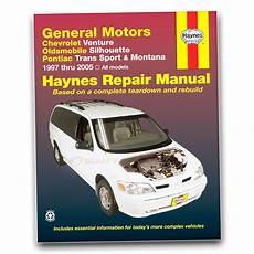 hayes car manuals 2005 chevrolet venture engine control haynes repair manual for 1997 2005 chevrolet venture shop service garage hv ebay