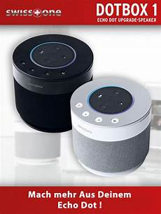 Swisstone Dotbox 1 Echo Dot Upgrade Speaker