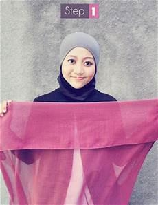 Allisya Cara Memakai Jilbab Segi Empat Modern