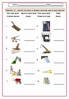 simple machines worksheet test exercises for g 4 6 by smiley teacher