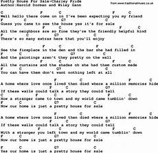 Country Pretty House For Sale Pride Lyrics
