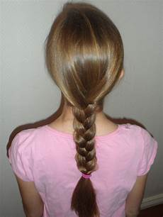 How To Braid 3 Strands Of Hair how to do a basic three strand braid awesome hairstyle